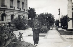 Jardines do Capitolio. La Habana. 1937