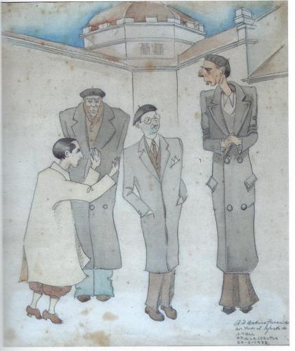 JORGE GUILLERMO TELL debuxo Arturo tarcido e outros  MdL 001